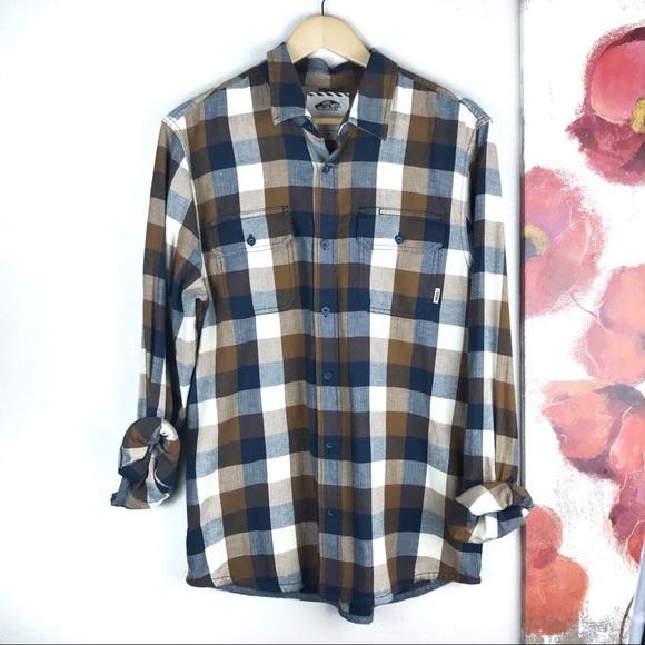 Vans Other - VANS I Men's Flannel Long Sleeve Button Down Med